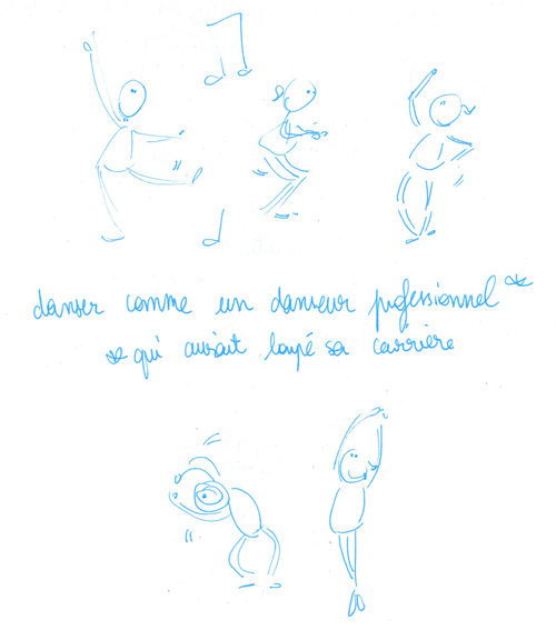 Plaisir coupable : danser